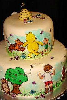 My next birthday cake!!! Don't judge ;)Whinnie The Pooh