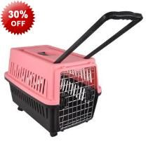 2014 Model 60cm Wheeled Pet Dog Cat Carrier With Handle - Airline Approved - Wheels - Handle