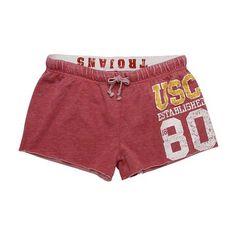 USC Trojans Women's Cardinal shorts