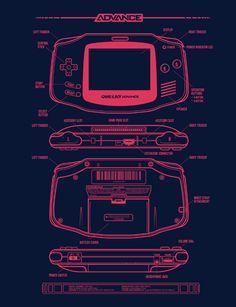 "thenintendard: ""Game & Boy Advanced Made by Adam Rufino"""