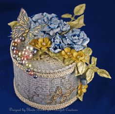 Altered Tin Tutorial by Glenda Brooks