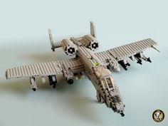 LEGO 190th FS 'Skullbangers' A-10A Warthog