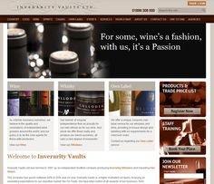 Inverarity Vaults Web-page.