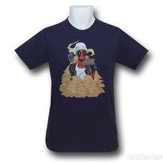 Images of Deadpool Pancake Chef 30 Single T-Shirt