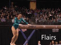 Peng Peng Lee - flair on beam