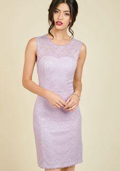Opulent Opportunity Sheath Dress