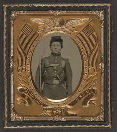 [Unidentified young soldier in Union uniform with bayonete…   Flickr