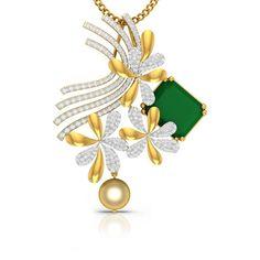 Jewellery Designs, Gold Jewellery, Diamond Jewelry, Pendant Set, Gold Pendant, Fashion Jewellery Online, Jewelry Drawing, Necklace Online, Diamond Pendant Necklace