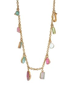 #lovers Turquoise Mountain Stone Necklace £420.00 Pippa Small at COUTURELAB
