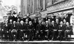 The Solvay Conference of 1927. Probably the smartest gathering in history. Among the attendees were Albert Einstein, Marie Curie, Niels Bohr, Werner Heisenberg, Max Planck, Erwin Schrodinger and many more.