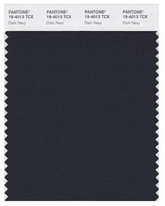 Pantone Dark Navy