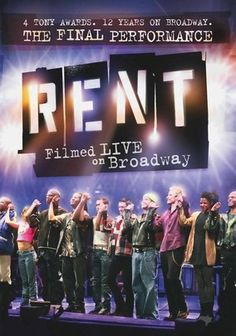 "Rent: Filmed Live on Broadway (2008) This program captures the final Broadway stage performance of Jonathan Larson's Pulitzer and Tony Award-winning musical ""Rent,"" filmed live in Manhattan's Nederlander Theatre, where the play ran for 12 years. Following a group of young artists struggling with life and love in the era of the AIDS epidemic, the production features show-stopping renditions of songs such as ""One Song Glory,"" ""I Should Tell You,"" ""I'll Cover You,"" ""Will I?"" and more."