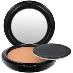 MAC Pro Longwear Powder/Pressed ($26) ❤ liked on Polyvore featuring beauty products, makeup, face makeup, face powder, dark plus and mac cosmetics