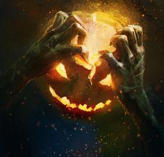 pumpkin head by Aleksandr Plihta
