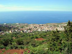 Vista panorámica de La Guancha desde el Cerrogordo