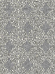 Pretty Tibetan Rug by Madison Lily Rugs shown in Gray
