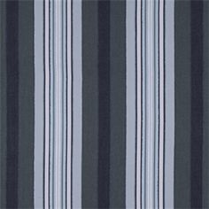 Hull Stripe Aegean Blue Drapery Fabric by Robert Allen - 50984   BuyFabrics.com