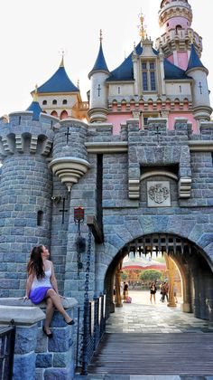 The happiest place on earth. 🏰:)