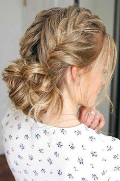 Fun And Easy Updos For Long Hair , Charming Double Braided Updo For Thin Hair ❤️ Long hair updos are not only classy for a special occasion but a simple fix. Easy Updos For Long Hair, Long Thin Hair, Short Hair Updo, Braids For Long Hair, Curly Hair Styles, Thick Hair, Hair Styles Casual, Casual Hairstyles For Long Hair, Casual Updos For Long Hair