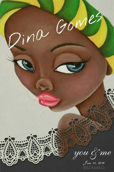 Mulata African American Art, African Art, Black Women Art, Black Art, Fabric Painting, Artist Painting, African Quilts, Afro Art, Cartoon Drawings