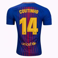 Nike Youth Barcelona Coutinho Soccer Jersey (Home   SoccerEvolution 879bc38ae953c