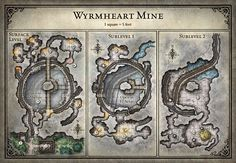 Tomb of Annihilation; Wyrmheart Mine - 5E (Digital DM & Player Versions) $2
