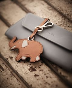 Cute accessories, wallet and key-ring #wallet #keyring #blu #elephant #malo #accessories