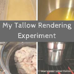 My Tallow Rendering Experiment | Blue Yonder Urban Farms | by Karen Coghlan | #byuf #blueyonderurbanfarms #karencoghlan   #rendering #tallow #video | http://blueyonderurbanfarms.com/7666/my-tallow-rendering-experiment