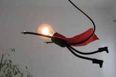 Lamp Lamp, unique and stylish handmade design - Photo & # 39 .- Lamp Lampje, uniek en sfeervol handgemaakt design – Foto& SuperLampje: Lamp Lamp, unique and stylish handmade design – Foto & # s SuperLampje: - Vintage Industrial Lighting, Unique Lighting, Home Lighting, Lighting Design, Diy Luminaire, Luminaire Design, Lamp Light, Light Up, Diy Light
