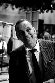 Frank Sinatra on the set of The Dean Martin Show / AS1966