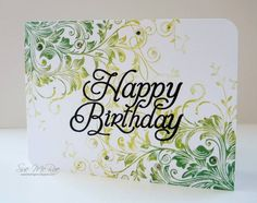 Leafy Vines Birthday by Susan84 - Cards and Paper Crafts at Splitcoaststampers