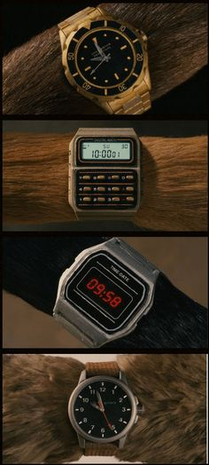 watches in fantastic mr fox.  amazing.