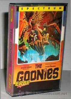The Goonies [US Gold] [DataSoft] 1986 - Erbe Software [Zx Spectrum] Software, Spectrum, Gold, Retro Games, Direct Sales, Videogames, Yellow