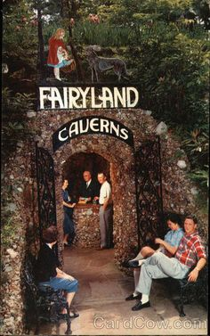 Entrance to Fairyland Caverns Rock City Tennessee Roadside Picnic, Tacky Tourists, Chattanooga Tennessee, Roadside Attractions, Picnic Area, Fairy Land, Rock, Vacation Destinations, Weekend Getaways
