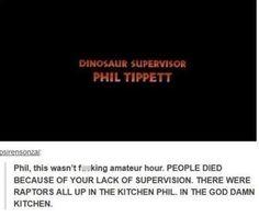 Phil's jurassic-sized failure: