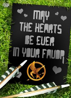 Hunger Games Valentine's Day Card