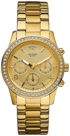 women watches | Watches women gold GUESS U14503L1 Gold Stainless Steel