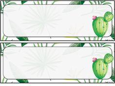 Étiquettes pour les bureaux d'élèves et affiches de classe. Thème tropical. Classroom Word Wall, Classroom Borders, Classroom Design, Classroom Themes, Bubble Art, Class Decoration, Printable Planner Stickers, Teaching Tools, Plant Leaves
