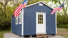The Veterans Community Project built a community of tiny houses for homeless veterans.