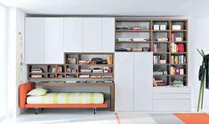 idea habitaciones juveniles estrechas