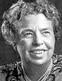 """A woman is like a tea bag; you never know how strong it is until it's in hot water.""   ― Eleanor Roosevelt, You Learn by Living: Eleven Keys for a More Fulfilling Life"
