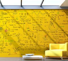 Clear Dry Erase Paint Writing on the walls used to get you in trouble. Well now it's not only allowed, it's encouraged!