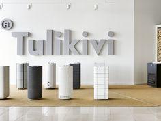 Tulikivi sauna heaters at Studio Tammisto. Finnish Sauna, Portable Spa, Steam Showers, Wellness Spa, Home Spa, Scandinavian Style, Relax, Saunas, Interior Design