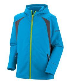 Compass Blue Glacier Tech Jacket - Boys #zulily #fall