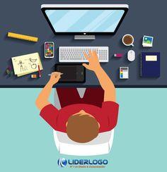 colores para el diseño de logo blog.liderlogo.com