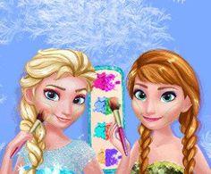 Frozen Prom Makeup Design. Baby Hazel World · Frozen Games · Elsa's ...