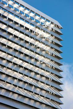 EQUITONE facade materials. Technology Building in Leuven, Belgium, de Jong Gortemaker Algra. www.equitone.com #architecture #material #facade