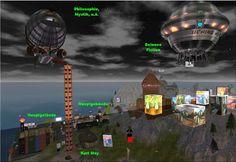 BukTomBlog: Freie Bibliothek Pegasus in SL ein Überblick im Bild - Dank für Euer Interesse!