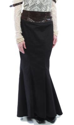Lip Service Steampunk, Step in Time, Long Steampunk Skirt with B