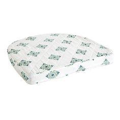 """Quilted Chair Cushions, Ballard Desgins, small size 16""""Wx14 1/2""""L, $15 each, machine washable"""